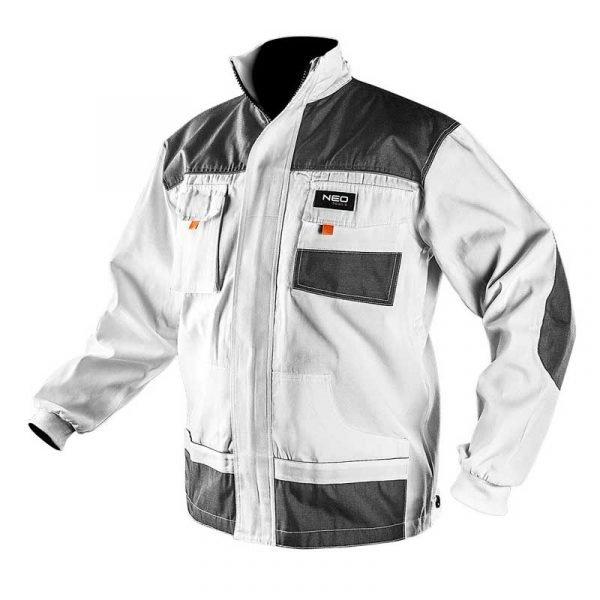Bijela radna jakna S-XXL NEO 81-110