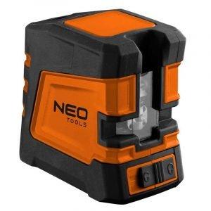 Križni nivelir laser 20 m zeleni NEO 75-107