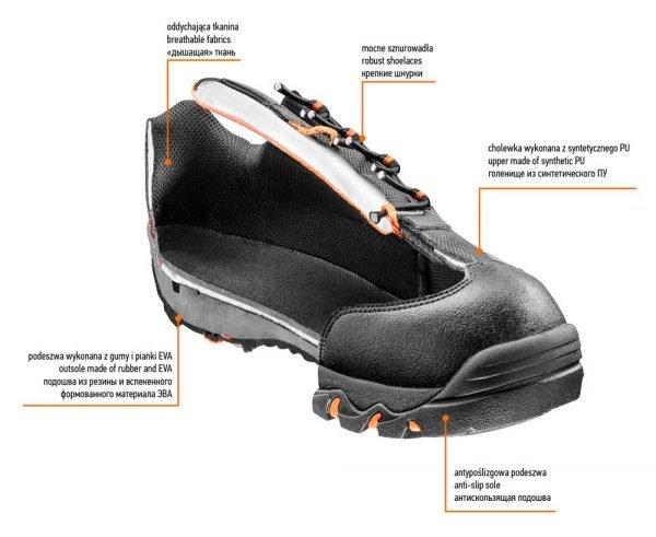 Poluduboke radne cipele OB NEO 82-711