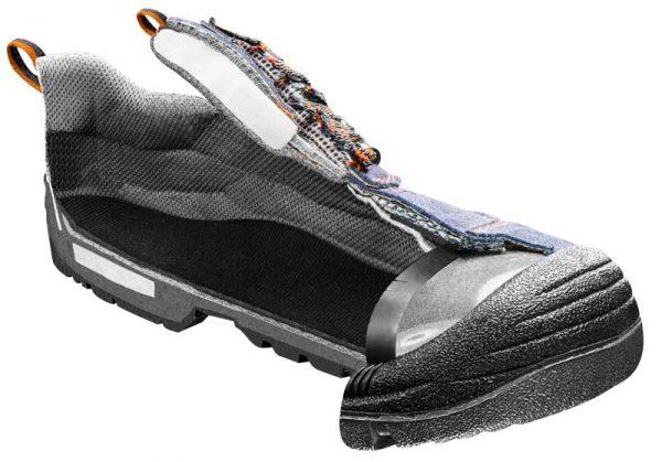 Radne cipele brušena koža NEO 82-030_
