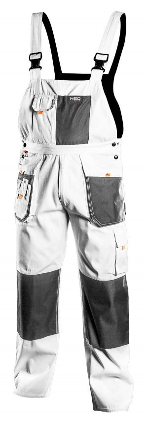 Radne hlače s naramenicama S-XXL NEO 81-140