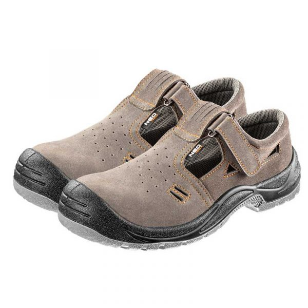 Radne sandale brušena koža NEO 82-080-