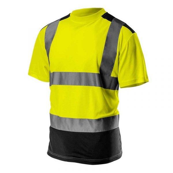 Reflektirajuća majica s tamnim dnom S-XXL NEO 81-73081-731