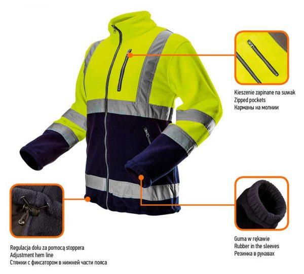 Reflektirajuća zimska jakna S-XXL NEO