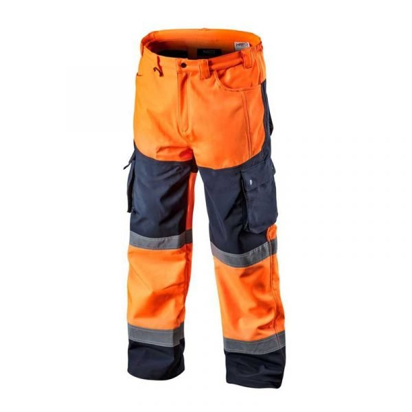 Reflektirajuće zimske hlače S-XXXL NEO narančaste