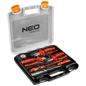 Set kliješta i odvijača za električare 7 kom 1000 V NEO 01-305