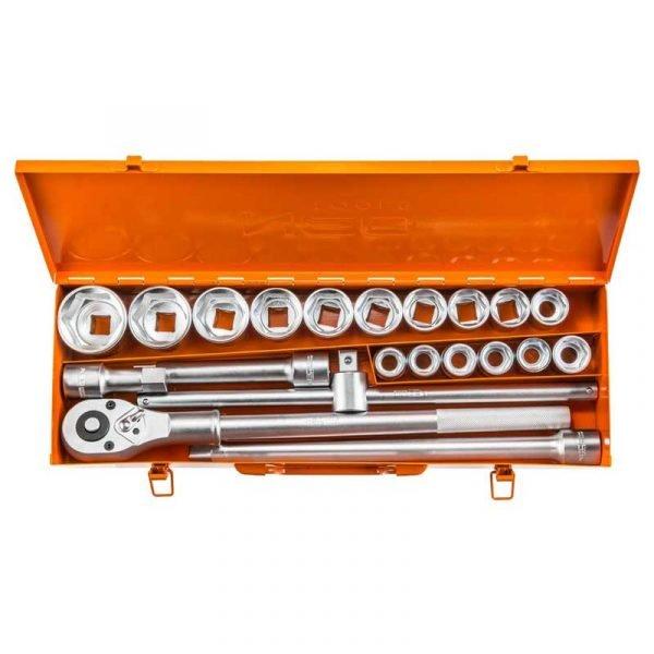 Set nasadnih ključeva 34 s račnom NEO 08-061