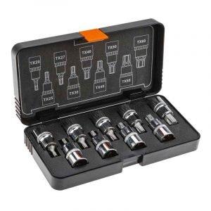 Set nasadnih ključeva torx 12 9 kom NEO 08-707