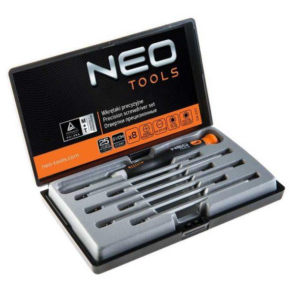 Set preciznih izvijača 8kom NEO 04-227
