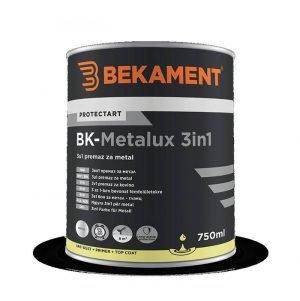BK Metalux 3u1 završna boja za metal 750 ml